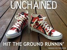 Image of Eddie Van Halen Stripes Shoes