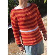 Tudelidu ... bomullsgenser til herre er klar! Hva synes du? Noe for en du kjenner? ☀️ Cotton knit for men ready. What do you think? ☀️