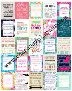FREE SHIPPING Bible Verses Prayer Motivation by TheSassyPlanner