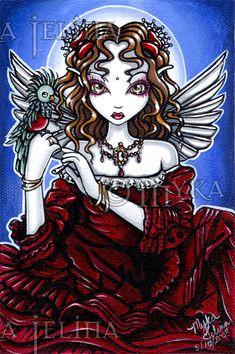Myka Jelina Art original paintings Source by kathycochren Gothic Fantasy Art, Gothic Fairy, Amy Brown, Faerie Tattoo, Male Fairy, Steampunk, Mika, Fairies Photos, Decoupage
