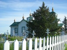 Russian Orthodox Church between Whittier and Homer, AK