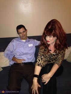 Brandi: My Husband & I dressed as Al & Peggy Bundy this year. I came across a picture when I was on the computer & thought it would be pretty cute....