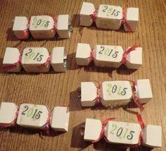 papillotes marque-places pour la Nouvel An
