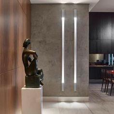 Amazing Lights from Aliexpress (click in photo) watch now! Lobby Design, Hall Design, Modern Interior, Interior Architecture, Interior Design, Design Hall Entrada, Flur Design, Led Licht, Minimalist Home Decor