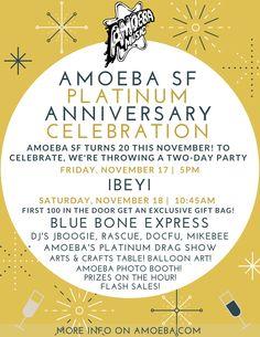 Amoeba SF 20-Year Anniversary