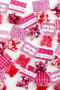 Detalles con dulces para este 14 de febero