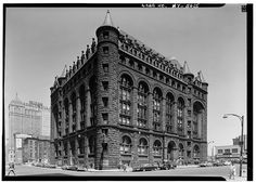 Erie County Saving Bank (demolished) from HABS | Flickr - Photo Sharing!