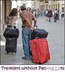 Travelling … or moving house? (use this checklist to avoid this problem)