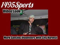 Make sure to check out #1495Sports as we have photos and videos of @nyjets Mark Sanchez helping out with @CityHarvest in Far Rockaway #Queens