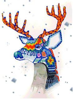I love deer art