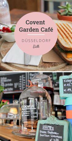 Café in Düsseldorf im Londoner Stil, guter Kaffee und tolle Sandwiches