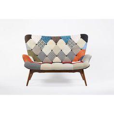 Found it at AllModern - Patchwork Sofa