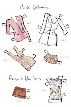 For The Cool Kid In You: Louis Vuitton Paper Dolls!