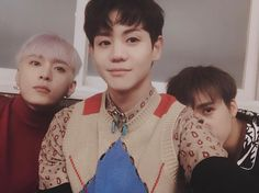 Yoseob, Junhyung and Dongwoon