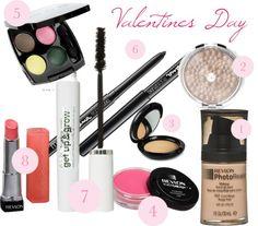 """Valentines Day Makeup"" by pinkerjen on Polyvore"