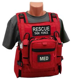 Rescue Task Force RTF Responder Vest (Empty or Loaded)