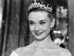 """Audrey Hepburn en """"Vacaciones en Roma"""" (Roman Holiday), 1953"""