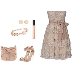 """""""BEIGE"""" by mimilola06 on Polyvore"""