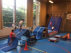 Bobbelbaan Occupational Therapy Activities, Pediatrics, Playground, Gym Equipment, Exercise, School, Sports, Circuits, Children Playground