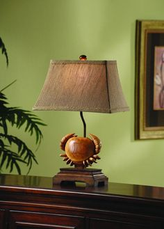 Crestview Collection CVARP735 Sand Springs Accent Lamp 5 10 X 14 9