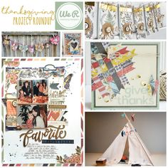 Get some inspiration for gratitude-themed crafting with our roundup of Thanksgiving projects. Thanksgiving Projects, Weekend Crafts, Thankful Heart, We R Memory Keepers, Give Thanks, Creative Inspiration, Happy Friday, Layout, Memories