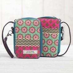 Natural Life Be The Change Vagabond Gypsy Wristlet at The Paper Store