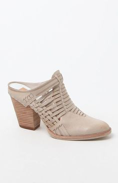 Dolce Vita Heeley Woven Leather Mules