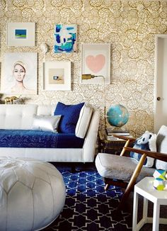 The article that inspired the pin: Creating Your Perfect Color Palette Style by Emily Henderson