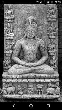 Temple Architecture, Indian Architecture, Asian Sculptures, Buddhist Art, Indian Art, Buddhism, Bronze, Statue, Indian Artwork