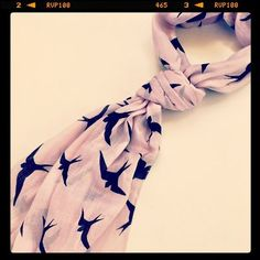#Scarf #BirdPrint #CostaBlanca #Instyle #trend2012 #LoveIt Bird Prints, Autumn Fashion, Culture, Chic, My Style, Bags, Accessories, Clothes, Dresses