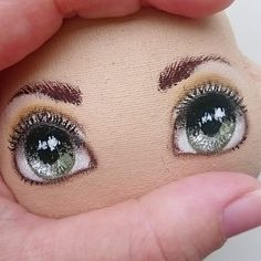 Discover thousands of images about 28 Trendy doll hair waldorf faces Doll Face Paint, Doll Painting, Doll Sewing Patterns, Sewing Dolls, Doll Crafts, Diy Doll, Doll Making Tutorials, Doll Eyes, Doll Tutorial