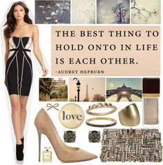 """""""Thursday 13 night"""" by londonnewyorkparis ❤ liked on Polyvore"""