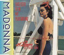 CD Singles - Madonna - This Used To Be My Playground (Single Version) / This Used To Be My Playground (Instrumental) - Warner Bros. - UK - W0122CD