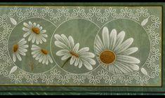 123 plates ABC. Vellum Paper, Paper Cards, Parchment Design, Parchment Cards, Daisy, Cool Cards, Making Ideas, Cardmaking, Decoupage
