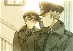 Germany and Prussia ~ They're hoooooot!