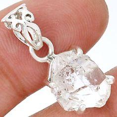 Herkimer-Daimond-925-Silver-Pendant-Jewelry-SP173086