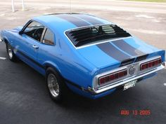 1971 Ford Maverick.