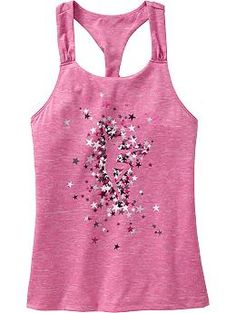Girls Active by Old Navy Graphic Tanks