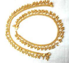 Anklets  gold anklets  bell anklet Bracelet  by IndiaTradition
