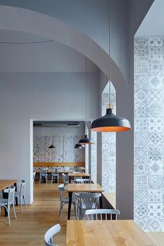Nejen Bistro located in Karlin district, Prague by mar.s architects