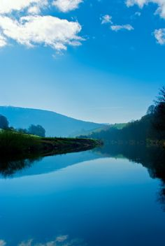 River Wye, Whitebrook, Monmouthshire, Wales