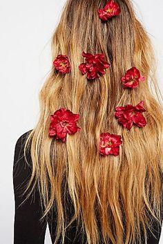 Franny Flower Hair Pins