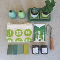 @potandpantry bringin' on the green at Heath Ceramics in San Francisco. Short Stack Editions Vol. 7: Broccoli, by Tyler Kord.