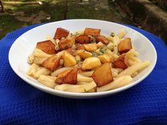pasta con le patate fritte