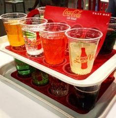 Coca Cola store on the Las Vegas Strip. You can taste Coke & Sodas from around the world