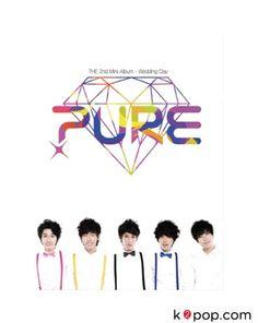 퓨어 (PURE) - 결혼하는 날 (미니앨범) (PURE - WEDDING DAY (2ND MINI ALBUM)) + POSTER IN TUBE