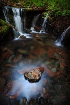 Convocation by Tula Top, via 500px Unnamed tributary · Clear Branch Creek · Pinnacle Ridge Trail · Mt. Hood National Forest · Parkdale · Oregon · USA