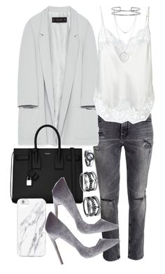 """Untitled #20364"" by florencia95 ❤ liked on Polyvore featuring Zara, Givenchy, Yves Saint Laurent, Boohoo, LULUS and Botkier"