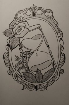 traditional hourglass tattoo | Source: http://www.deviantart.com/morelikethis/367901662?offset=35