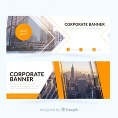 More than 3 millions free vectors, PSD, photos and free icons. Exclusive freebies and all graphic resources that you need for your projects Banner Design Inspiration, Web Banner Design, Web Banners, Graphic Design Posters, Graphic Design Typography, Ad Design, Layout Design, Modele Flyer, Real Estate Logo Design